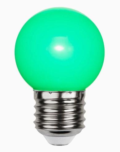 Star Trading Decoration LED Krone pære Grønn 1W E27