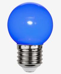 Star Trading Decoration LED Klotlampa Blå 1W E27