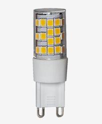 Star Trading LED Klar G9 3,6W/2700K (35W). Dimbar