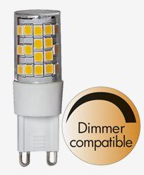 Star Trading LED-lampa stift G9 3,8W/4000K (35W)