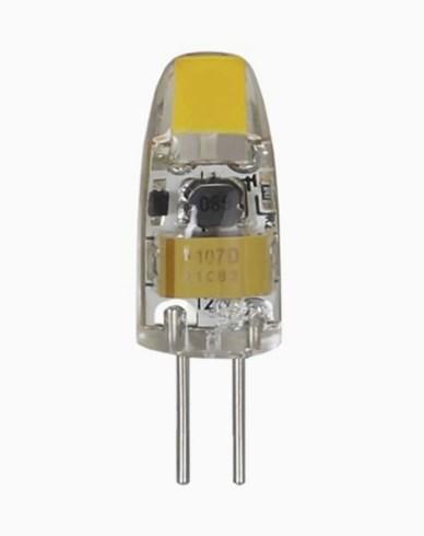 Star Trading Illumination LED 12V Klar G4 2800K 100lm Dim 1W (5W)