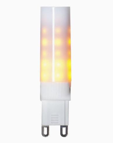Star Trading Decoration LED Flame lamp G9 1300K Vit