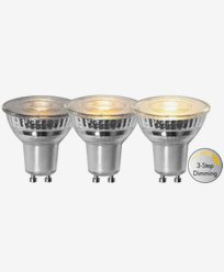 Star Trading LED-lampa GU10 PAR16 3-stegs dimring 4,4W/2700K (50W)
