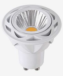 Star Trading Spotlight LED-pære Klar GU10 2700K 36° 5,5W(45W) 350lm. Ra 90. Dimm