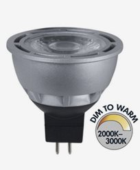 Star Trading Spotlight COB LED Gu5,3 Dim To Warm RA95 7W (35W)