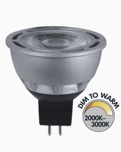 Star Trading Spotlight COB LED Gu5,3 Dim To Warm RA95 7W (35W)