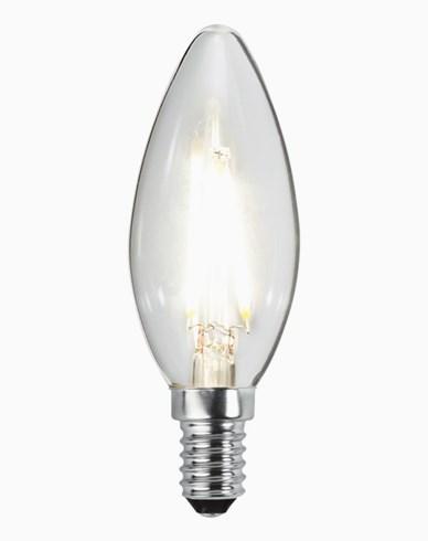Star Trading LED-pære Mignon / Krystall E14 2,3W/4000K (25W)