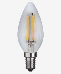 Star Trading LED filament Mignon pære E14 4,2W (37W) Dimmbar
