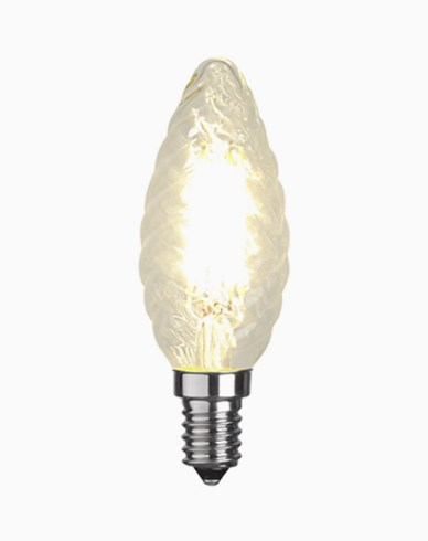 Star Trading Illumination LED kronljus Twisted filament E14 2700K 420lm Dim 4,2W (37W)
