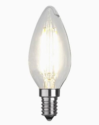 Star Trading Illumination LED kronljus filament E14 2700K 470lm 4,2W (40W)