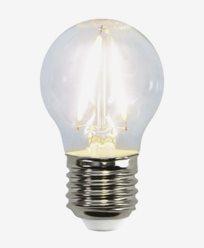 Star Trading Illumination LED kronepære E27 Klar filament 2700K 250lm 2,6W (25W)