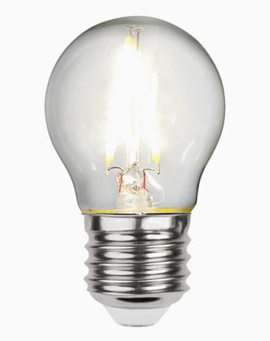 Star Trading LED-pære Krone/Illum E27 2,3W/4000K (25W)