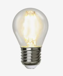 Star Trading Illumination LED kronepære E27 filament 2700K 420lm Dim 4,2W (37W)