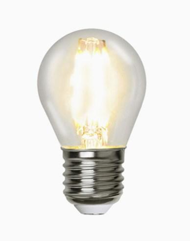 Star Trading Illumination LED klotlampa E27 filament 2700K 420lm Dim 4,2W (37W)