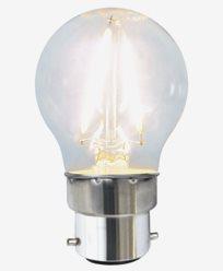Star Trading LEDpære Klar filament 1,5W/2700K (16W) B22