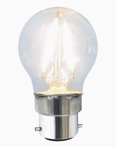 Star Trading LEDlampa Klar filament 1,5W/2700K(16W) B22