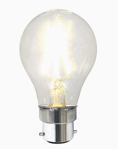 Illumination LED Clear filament bulb B22 2700K 180lm