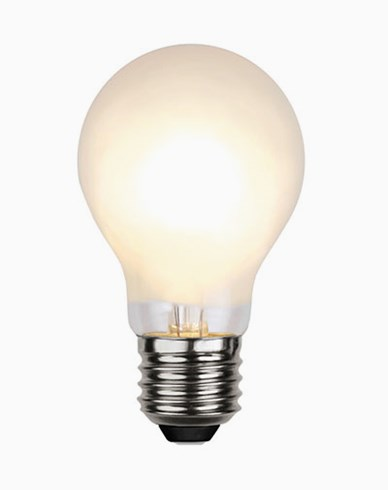 Star Trading Illumination LED Frostet filament Normal E27 2700K 4W (≈30W) Dimmbar