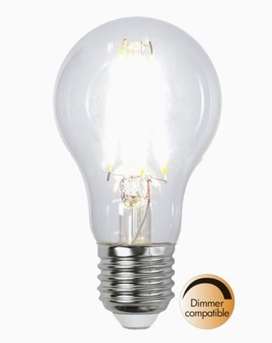 Star Trading Illumination LED-lampa Klar E27 8W/4000K (65W)