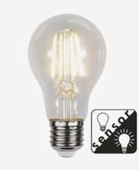 Star Trading LED-Filament Sensorlampa Klar E27 7W/2700K (60W)