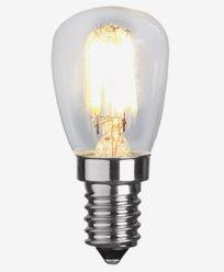 Star Trading Illumination LED Klar päron E14 2700K 2,5W Dim