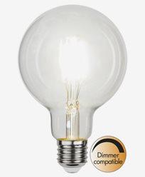 Star Trading LED-lampa Glob Ø95 E27 4W/4000K (40W)