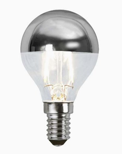 Star Trading Illumination LED filament toppforspeilet pære E14 1,8W (15W)