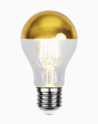 Star Trading Illumination LED filament toppforspeilet pære Gull E27 4W (30W) Dimbar