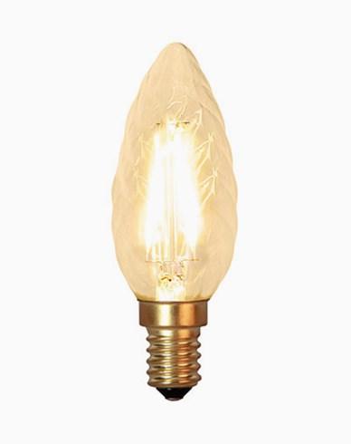Star Trading Decoration LED Twisted kronljus E14 2100K 120lm