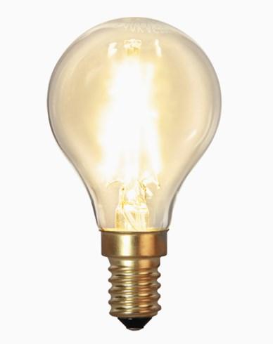 Star Trading LED-lampa Soft Glow Dim E14 klot 1,5W (15W)