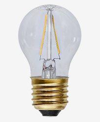 Star Trading Decoration LED Klar lampa E27 2100K 2W