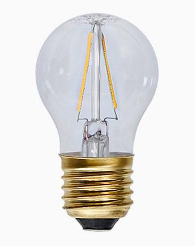 Star Trading Decoration LED Klar filament lampe E27 2100K 120lm 2W (15W)