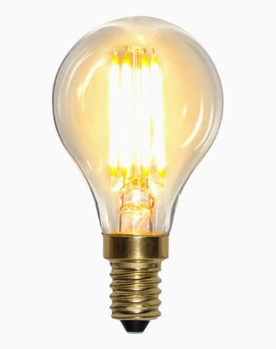 Star Trading LED-lampa Soft Glow Dim E14 klot 4W (35W)