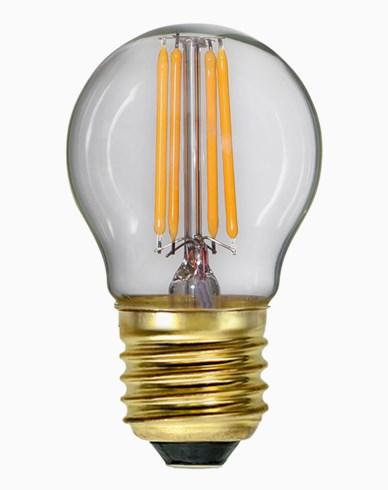 Star Trading LED-lampa Soft Glow Dim E27 klot 4W (35W)