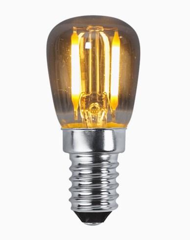 Star Trading LED päronlampa E14 Soft glow 2200K 1,4W 30 lm