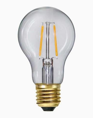 Star Trading LED-lampa Normal Klar E27 Soft Glow 160lm 1,6W