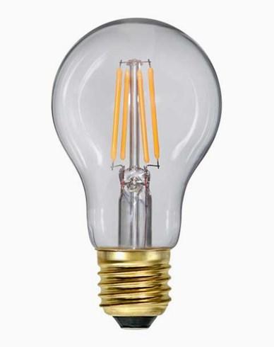 Star Trading LED-pære Klar E27 Soft Glow Dim 400lm 4W