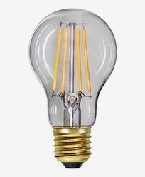 Star Trading LED-pære Klar E27 Soft Glow Dim 6W (60W)