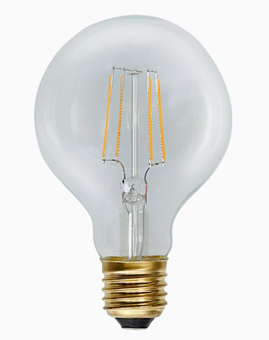 Star Trading Decoration LED Klar filament Globe G80 E27 2,3W (≈25W)