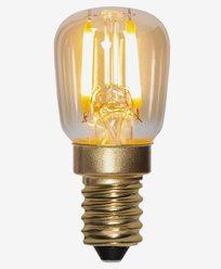Star Trading LED Päronlampa Amber 0,5W/2000K E14