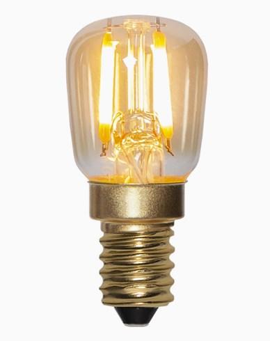 Star Trading LED Minipære Amber 0,5W/2000K E14