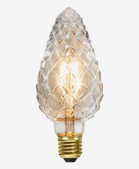 Star Trading LED-pære mønstret Mignon E27 Klar 2,3W (15W)