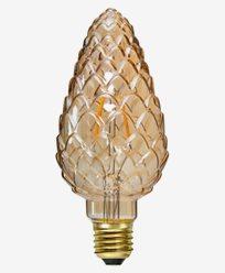Star Trading LED-pære mønstret Mignon E27 Amber 2,3W (15W) Dimbar