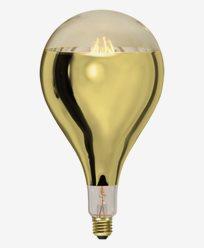 Star Trading LED-pære A165 Gull E27 8W 400lm