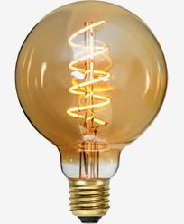 Decoration LED filament bulb E27 G95 2000K 3.8W Dimmer