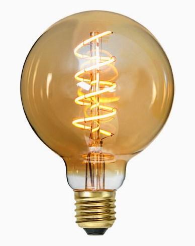 Star Trading Decoration LED filament globe pære E27 G95 2000K 3,8W