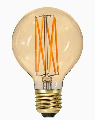 Star Trading Vintage Gold 1800K LED filament Ø80 3,8W (25W)
