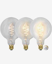 Star Trading LED-pære G125 3-trinns klikk dimmer 4W 2100K E27