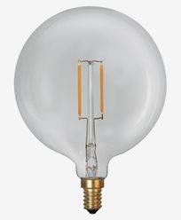 Star Trading LED-pære Soft Glow Globe Ø95 E14 1W (15W)