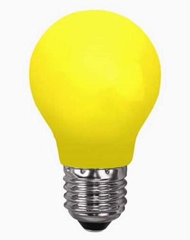 Star Trading GUL E27 0,5W LED-pære 356-40-1